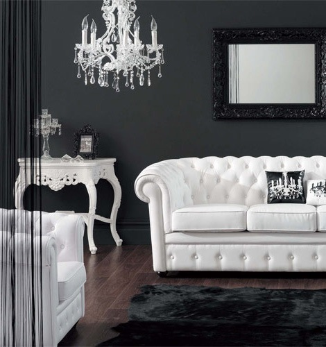 Modern Bedroom Black Gothic Bedroom Sets Room Colour Ideas Bedroom Bedroom Furniture For Men: A Casa Em Preto E Branco