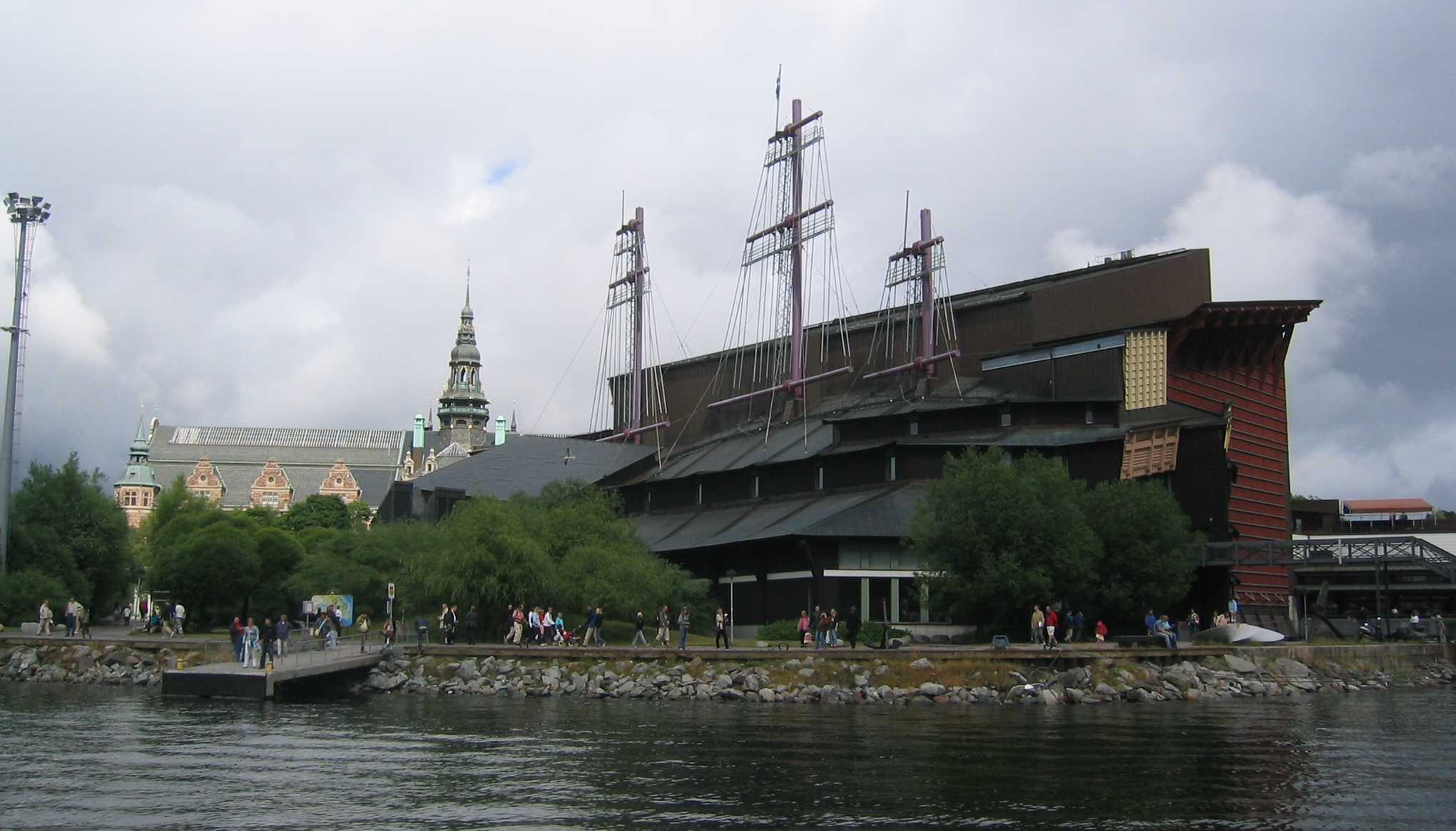 Wasa_Museum_-_Stockholm_-_Exterior