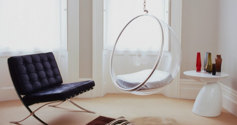 Bubble chairs, Eaton interior