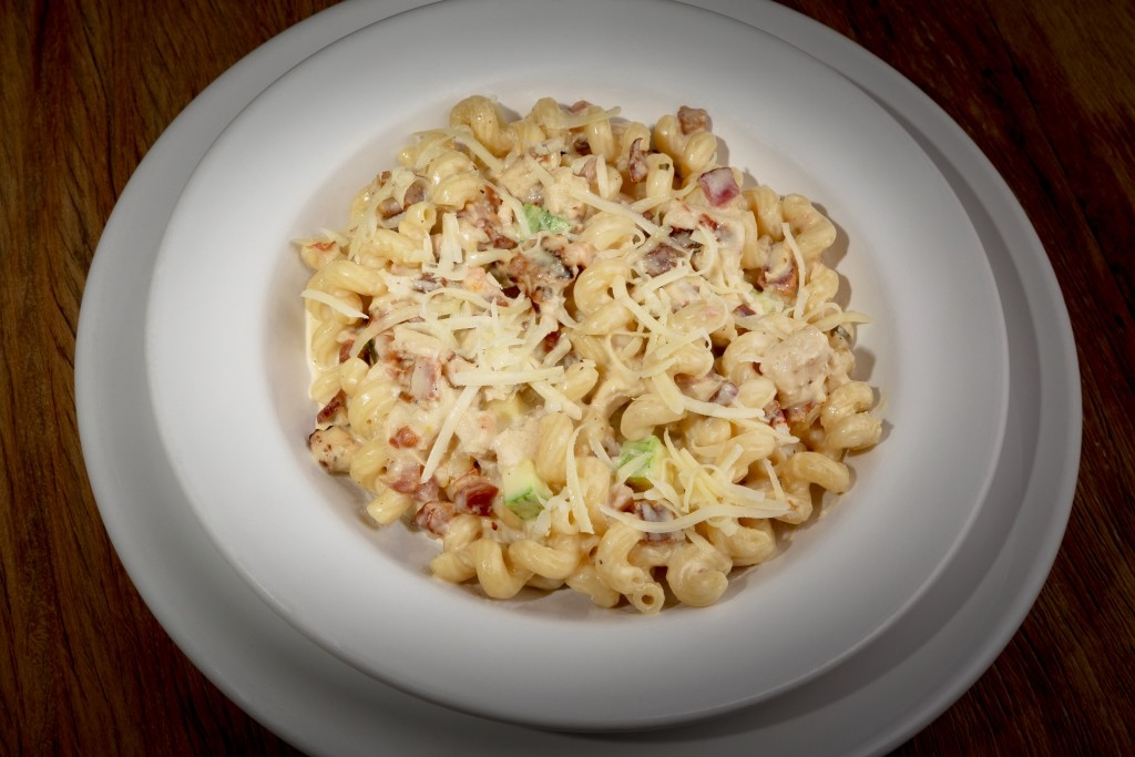 Chicken & Bacon Cavatappi_R$24,90