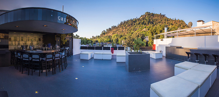 Grey Goose Rooftop Bar at Tinto Hotel Boutique, Barrio Bellavista Neighborhood, Santiago, Chile
